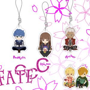 FATE CCC/Fate Grand Order/FGO/アクリルストラップ