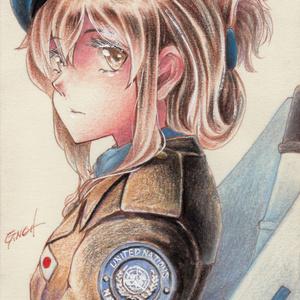 アナログポストカード 駆逐艦「乙」