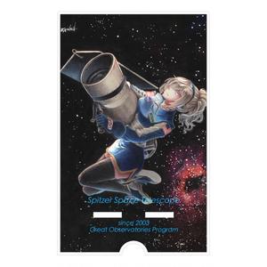 [擬人化]スピッツァー宇宙望遠鏡[アクリルスマホスタンド]