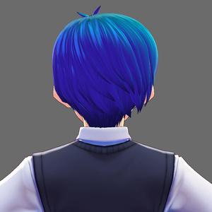VRoid Studio 髪型プリセット なんかショート!