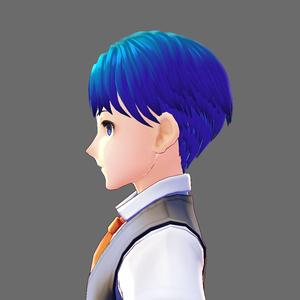 VRoid Studio 髪型プリセット men's02