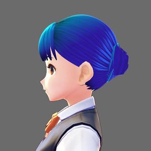 VRoid Studio 髪型プリセット lady's01
