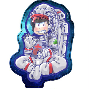 アクリルスタンド おそ松 SPACE PINE スペース松