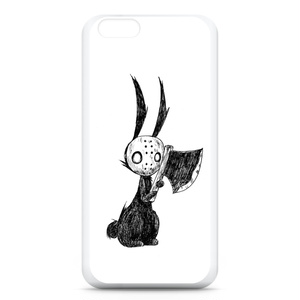 マスク兎のiPhoneケース