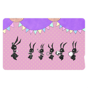 兎のパレードICカードステッカー