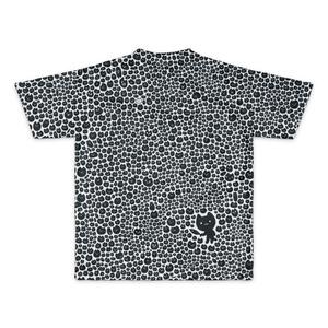 ねこだらけTシャツ