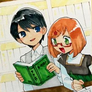 【エアコミティア】オリジナル色紙