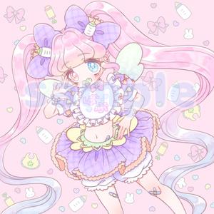 魔法少女ばぶちゃんのマイクロファイバークロス