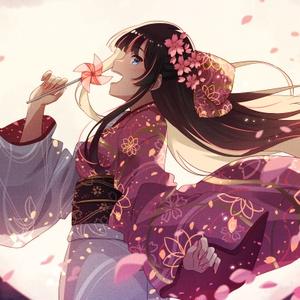 風ぐるま/可惜夜に桜花舞い散る涙雨