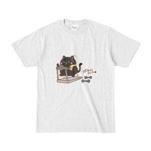 カラーTシャツ(グレー) ぽっちゃりらいふ クロ