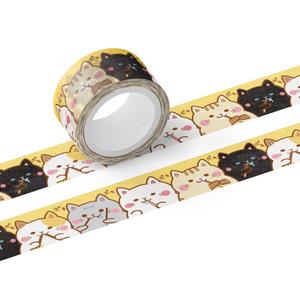 マスキングテープ - テープ幅 20mm ぽっちゃりらいふ (ポッキー)