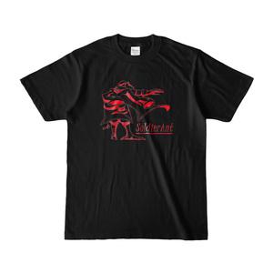 描き下しTシャツ(ブラック)
