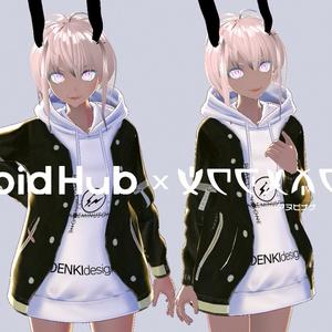 【無料】VRoid普段着衣装セット②