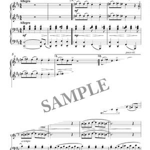 ピアノ連弾「ポラポラゲ」DL版