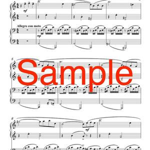 ピアノ連弾「晩秋のスケッチ」DL版