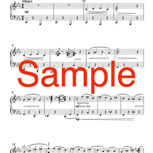 ピアノソロ「おばけがやって来る!」DL版