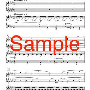 ピアノ連弾「クリスマス・ファンタジー」DL版