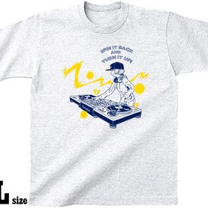 DJ [SPIN&TURN] Tシャツ