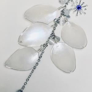 【らぶフェス雪祭】雪桜花びらピアス