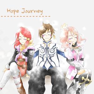 TOZオールキャライラスト本「Hope Journey」