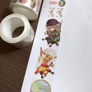 【モノノ怪】ノートスケジュール + マスキングテープ
