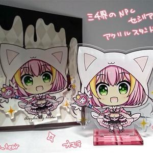 【グッズ】三千界・NPCセシリア・アクリルスタンド