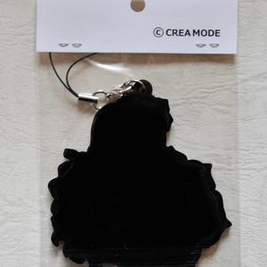 【CREA MODE】ロゴ・オリジナルラバーストラップ