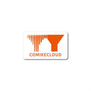 「COMIKECLOUD(コミケ雲)」ステッカー