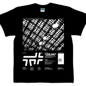 「天井」Tシャツ(ブラック)