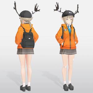 【VRC / VRM 対応3Dモデル】KRONOS ver3.00