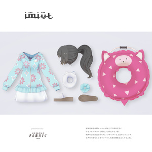 【VRC対応3D服飾モデル】imiut Swimwear ver3.00