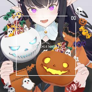 【VRC対応3D雑貨モデル】ハロウィン「カボチャ&髑髏」セット ver3.00