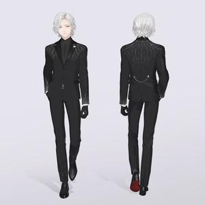 【VRC / VRM 対応3Dモデル】白鳥 -Shiratori- ver3.00
