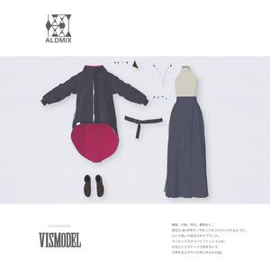 【VRC対応3D服飾モデル】ALDMIX kei's Outfit ver1.00