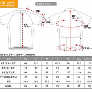 【再販/受注生産】サイクルジャージ2051年夏モデル「無痛・梅市松」