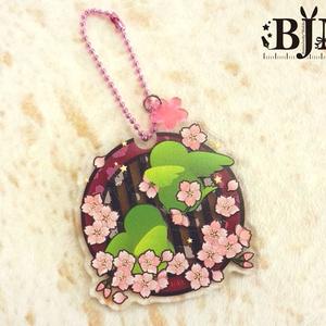 アクリルキーホルダー桜