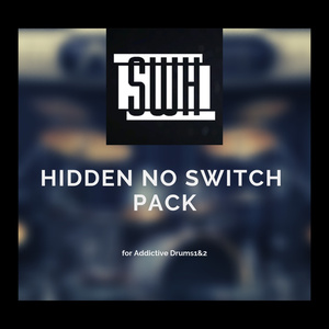 """""""Hidden no Switch Pack"""" for Addictive Drums1&2"""