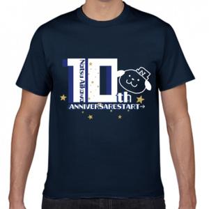 10周年記念Tシャツ ナッツくんver