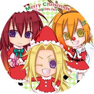 クリスマス缶キーホルダー