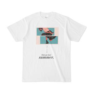君がいない夏。Tシャツ
