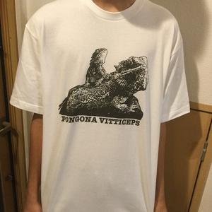 フトアゴヒゲトカゲTシャツ
