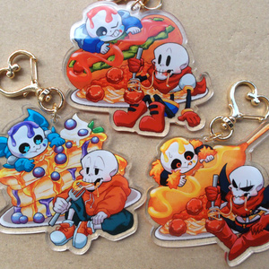 【※sold out※】sans&papyrus アクリルキーホルダー
