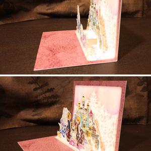 【ポップアップカード】 瓶の王国 (プチ)