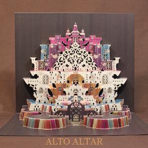 組立済【細密ポップアップカード】 アルトの祭壇(彩色版)
