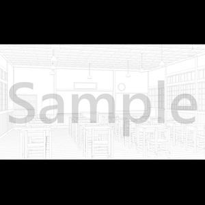 【背景素材】木造校舎 - 教室