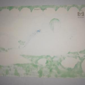 ポストカード原画「水族館人魚」