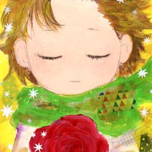 原画「星の王子様さま」(ポストカードサイズ)