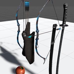 弓騎兵装備セット