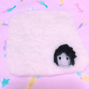 羊毛フェルトコースター