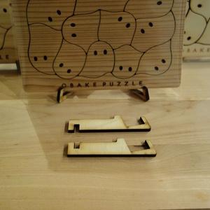 おばけパズル用スタンド はがきサイズ用(試作品)